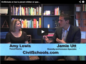 Jamie Utt and Amy Lewis discuss bullying
