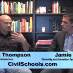 Jamie Utt and Eric Thompson discuss the importance of engaging in difficult conversations